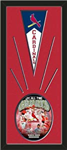 St. Louis Cardinals Wool Felt Mini Pennant & St. Louis Cardinals All Time Greats... by Art and More, Davenport, IA