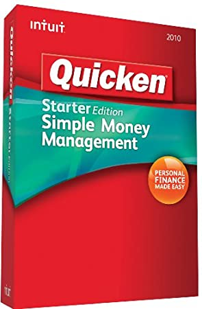 Quicken Starter Edition 2010 [OLD VERSION]