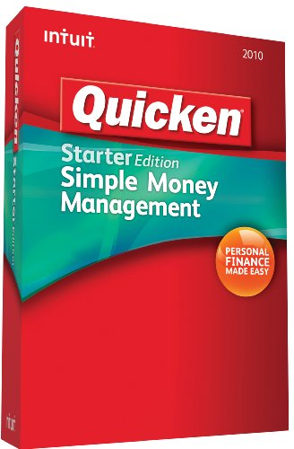 Quicken Starter Edition 2010