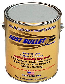 Gallon - Rust Bullet - Stops Rust, Rust Inhibitor Paint, Industrial Coating