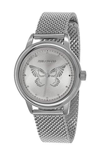 Zadig & Voltaire -Reloj de Pulsera, Analógico cuarzo, Acero inoxidable, Mujer