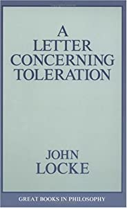 "Cover of ""A Letter Concerning Toleration ..."