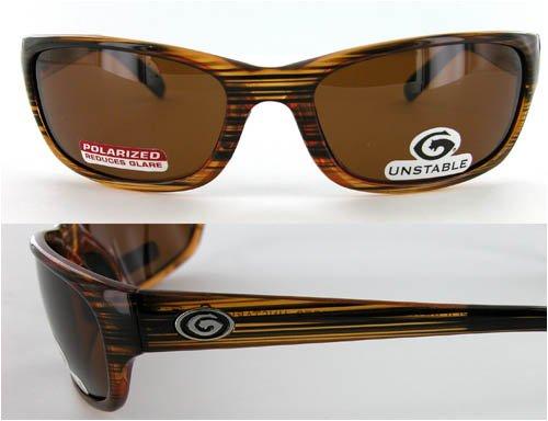 Gargoyle Unstable Sunglasses Goldfinger Brown Polarized