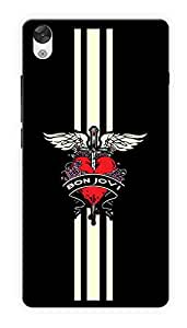 "Humor Gang Bon Jovi Printed Designer Mobile Back Cover For ""OnePlus X"" (2D, Glossy, Premium Quality Snap On Case)"