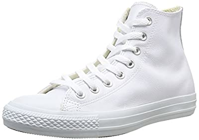 Converse Chuck Taylor All Star Adulte Mono Leather Hi, Unisex-Erwachsene Hohe Sneakers