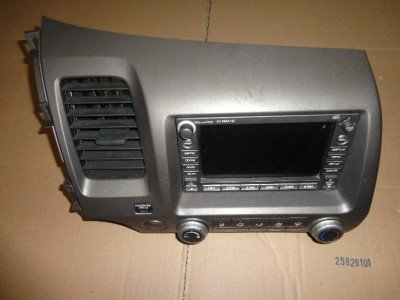 06-11 HONDA CIVIC Cd PLAYER Mp3 Radio Gps Navigation
