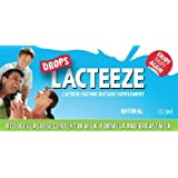 Lactase Enzyme Lacteeze Drops 15.5 ml Liquid by Gelda Scientific