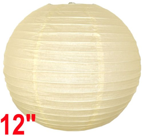 Ivory Chinese/Japanese Paper Lantern/Lamp 12
