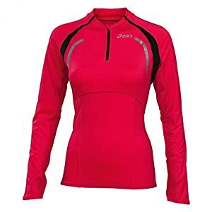ASICS LADY Half-Zip Long Sleeve Running Top - X Large