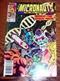 THE MICRONAUTS - THE NEW VOYAGES Comic Book.