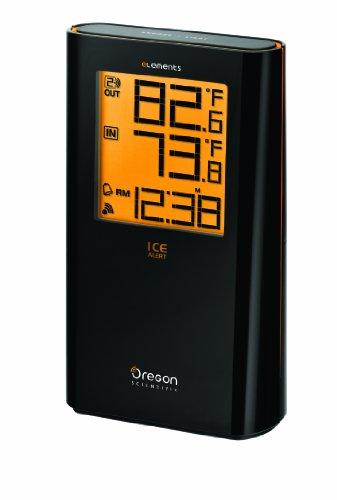 Oregon Scientific Ew92 Wireless Indoor/Outdoor Thermometer With Atomic Clock