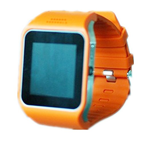 Uwatch Pro2 Bluetooth Smart Watch Wristwatch + Watch Cell Phone Mobile Touch Screen Pedometer Camera Vibrating Alert Fit For Smartphones Ios Android Apple Iphone 4/4S/5/5C/5S Android Samsung S5、S2/S3/S4/Note 2/Note 3 Htc Sony Blackberry (Orange)