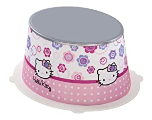 Rotho 20216000184 STyLE - Taburete infantil con diseño de Hello Kitty en BebeHogar.com