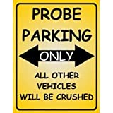 F2061 FORD PROBE PARKING ONLY FUNNY METAL FRIDGE MAGNET SIGN