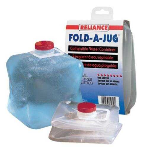 Reliance Products Fold-A-Jug Collapsible 1-Gallon Water Container