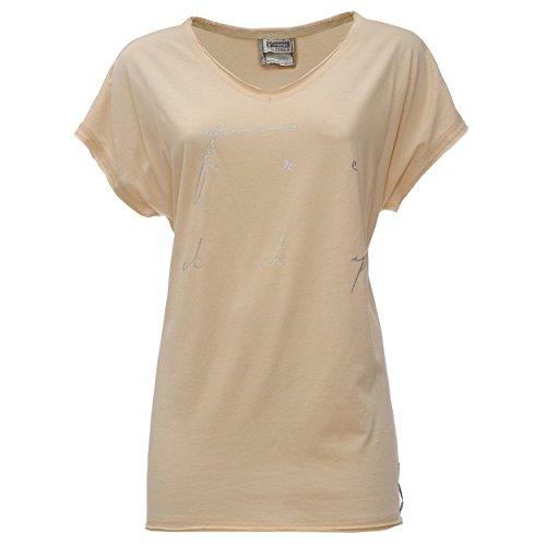 Freddy Trim6 T-Shirt, Donna, Beige, M