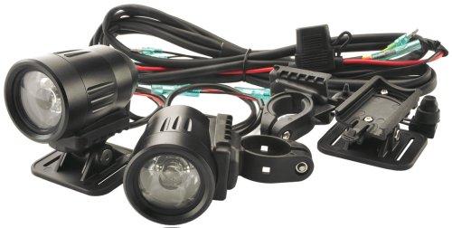 Trail Tech A182-Ss Equinox Black 35Mm Led Dual Light Kit