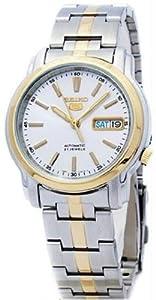 Mens Watch Seiko SNKL84 Seiko 5 Seiko 5 Two Tone Stainless Steel Case and Bracel