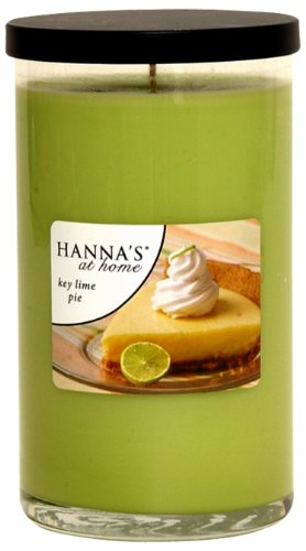 Hanna's at Home 19-Ounce Key Lime Pie Jar Candle