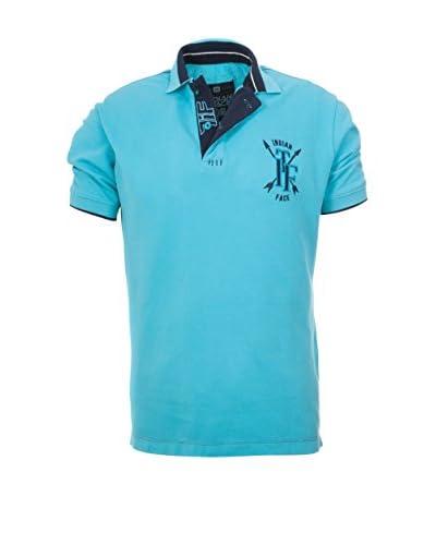 THE INDIAN FACE Poloshirt blau