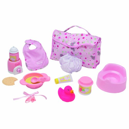 corolle w  accessories	for dolls, stroller
