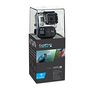 GoPro HERO3 Black Edition - Surf Wide Angle HD Helmet Cam