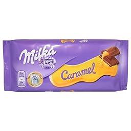 Milka - Caramel 100g (Pack of 3)