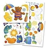 Weather Bear Bulletin Board Set (0742404323) by School Specialty Publishing