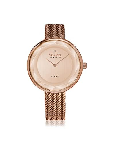 SO&CO Women's 5233M.4 SoHo Rose Gold-Tone Stainless Steel Watch