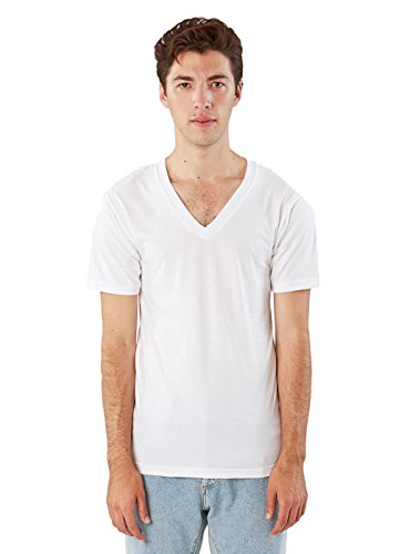 American Apparel -  T-shirt - Abbigliamento - Uomo bianco Medium
