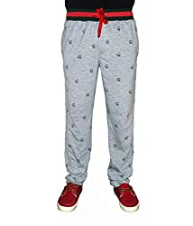 Crux&hunter Men's Trackpant (AMZ_ZJ_126_Grey_32)