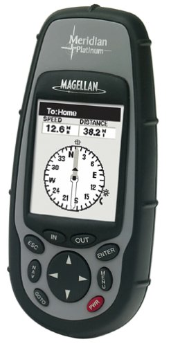 Magellan Meridian Platinum Waterproof Hiking GPS