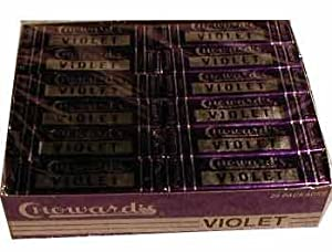 Choward's (Chowards) Violet Candy (24 count)