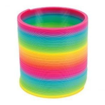 Magic Spring - 4 inch, Plastic, Rainbow