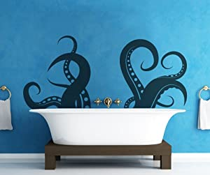 Vinyl Wall Decal Sticker Tentacle OS_MB316-27x60