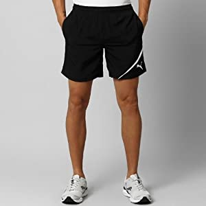 Puma Spirit Woven Mens Shorts Q13 Black Large
