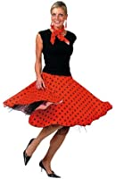 Bristol Novelty Ladies Rock N Roll Skirt