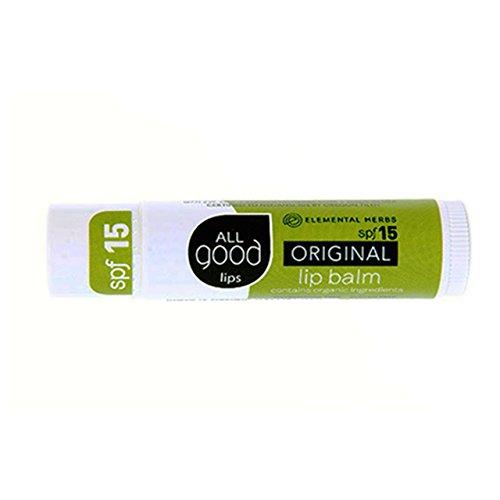All GoodSPF 15 Good Lips Balm, Original, 4.25 Gram