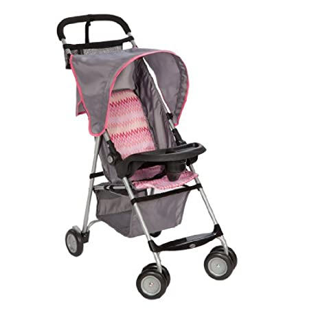 You'll have it made in the shade with the umbria stroller to get you and your child wherever you need to go. It has a lightweight frame that folds down quickly and, at just 11 pounds, it's easy to lift in and out of your car. This great-for-travel st...