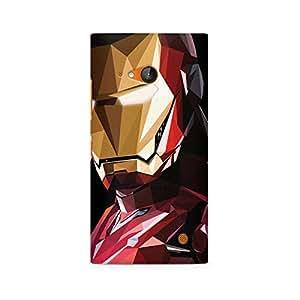 Ebby Iron Man Abstract Premium Printed Case For Nokia Lumia 730