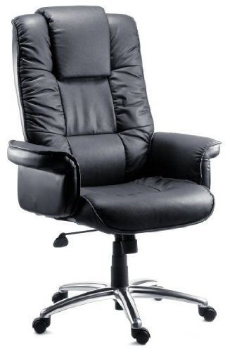 Teknik Lombard Leather Executive Chair Soft Fill Upholstery