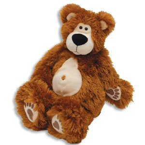 Plush Teddy Bear/Kodiak Zak the Comical Brown