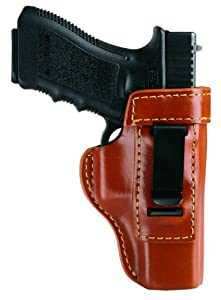 Gould & Goodrich 890-G19 Concealment Inside Trouser Holster (Chestnut Brown) Fits GLOCK 19, 23, 32