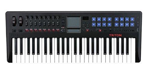 KORG TRITON taktile-49 音源内蔵MIDIコントロールキーボード アウトレット