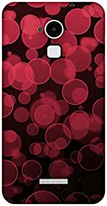 The Racoon Grip printed designer hard back mobile phone case cover for Coolpad Note 3. (Red Bubble)