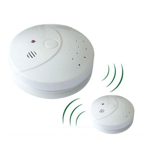 alert plus ap 428 interconnectable wireless battery operated smoke detector a. Black Bedroom Furniture Sets. Home Design Ideas