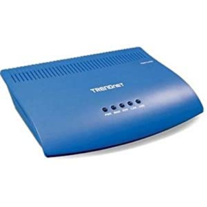 TRENDnet ADSL Fast Ethernet/USB Combination Modem Router TDM-C400