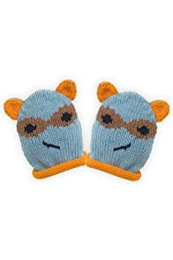 Joobles Organic Baby Mittens - Racky the Raccoon