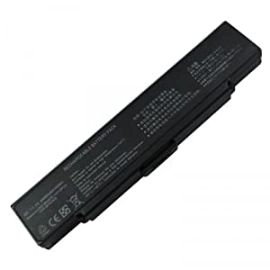 6-Cell 11.1V 4800mAh,Replacement battery for Sony VGP-BPS10, VGP-BPS9/B, VGP-BPS9A/B, VGP-BPS9B (No CD required)
