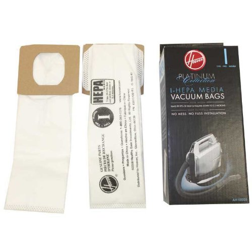 Hoover 8 Platinum I Vacuum Bags for Platinum Canisters( 4 PACKS EACH WITH 2 BAGS) (Hoover Vacuum Uh30010com compare prices)